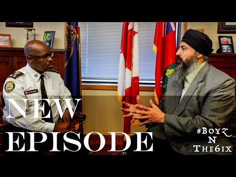 #13 - Toronto Police Chief Talks about Drugs and Community