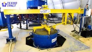 Вибропресс для жби колец(Видео изготовления колодезных колец на оборудовании компании ООО