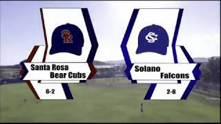 SRJC vs. SCC. Baseball 2-17-18