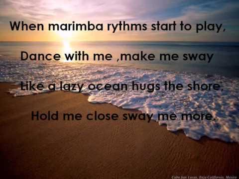 Glee- Sway Lyrics