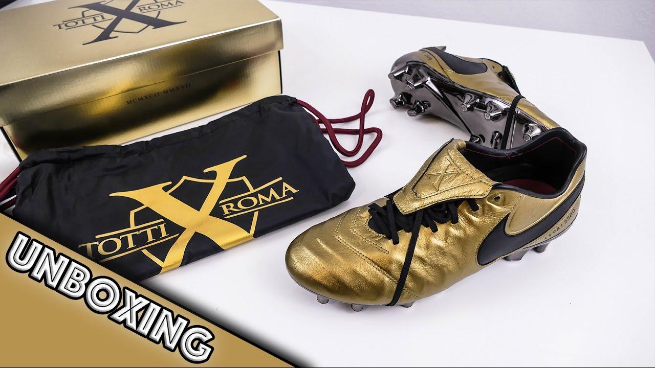 Roma Tiempo UnboxingNike Legend Totti X Vi CBexod