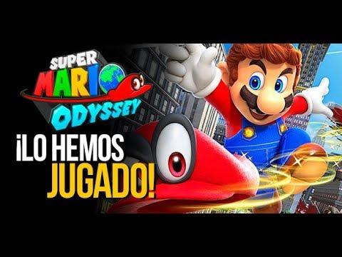 Super Mario Odyssey - Vídeo: ¡Ya lo hemos jugado! | E3 2017