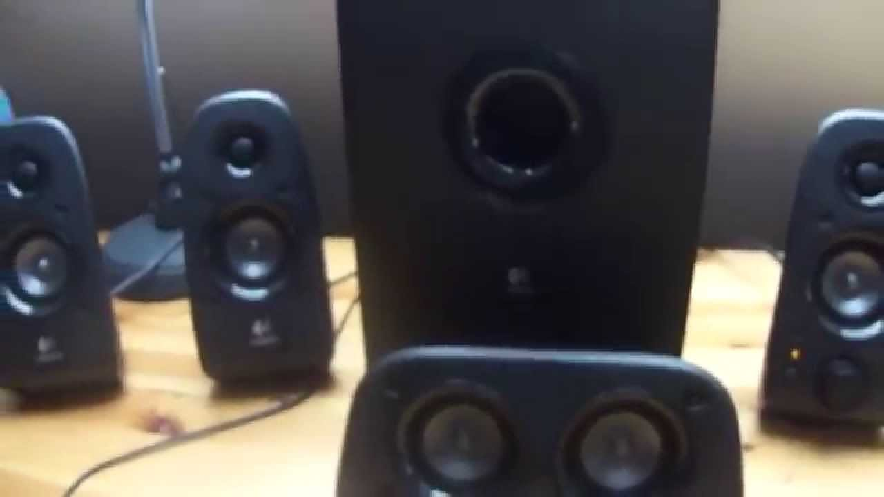 christhefull test kit enceinte 5 1 logitech z506 youtube. Black Bedroom Furniture Sets. Home Design Ideas