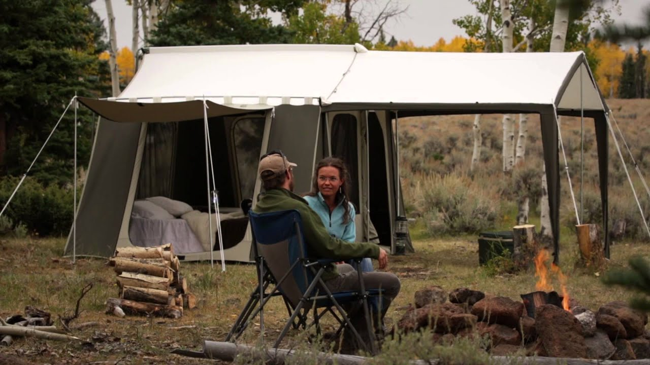 sc 1 st  YouTube : kodiak canvas tent 6133 - memphite.com