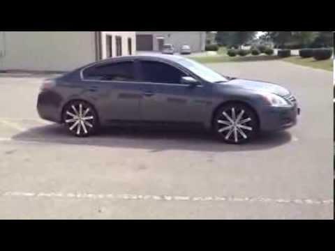 20 Inch U2 23a Wheels 2012 Altima Nashville Tn Youtube