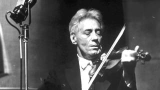Fritz Kreisler plays Liebesfreud