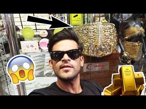 Gold Shopping In Dubai * Cheapest Gold Market In Dubai *