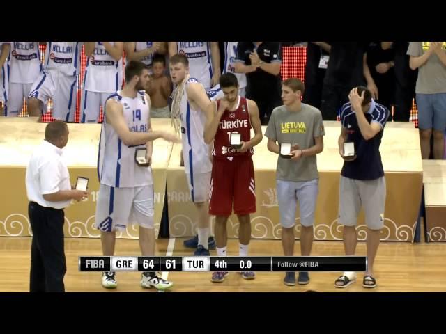 U18: Η Εθνική Ομάδα ΠΡΩΤΑΘΛΗΤΡΙΑ ΕΥΡΩΠΗΣ 2015. Το video της ΤΕΛΕΤΗΣ ΛΗΞΗΣ με τις ΑΠΟΝΟΜΕΣ - ΒΡΑΒΕΥΣΕΙΣ που δημοσίευσε η Eλληνική Oμοσπονδία στο επίσημο yt κανάλι τη