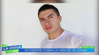 La Chiva Noticias Cartago 4 de junio de 2019 Muerto en Accidente