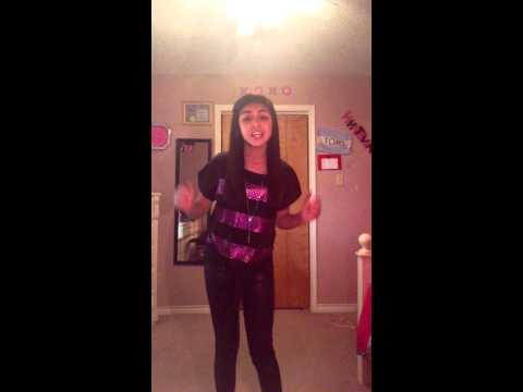 "Alicia Keys ""Girl on fire""  cover by Kaylise Renay Irizarry"