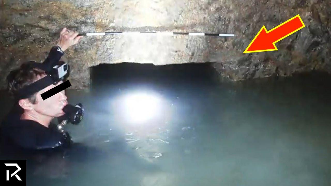 Diver Discovers Underwater Treasure Beneath Pharaoh's Tomb