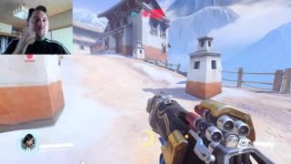 Overwatch Beta Gameplay (Pharah)