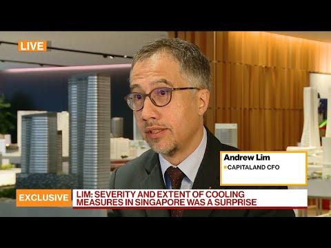 CapitaLand CFO on Earnings, Ascendas Merger, China, Singapore Property Prices