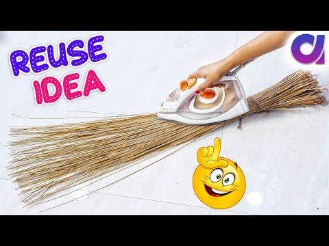 Best out of waste coconut Broom craft Idea | #DIY art and crafts | DIY HOME DECOR | Artkala 449