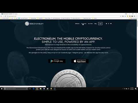 Step 1 - Create Your First Live Electroneum Wallet