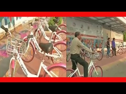 Thane Municipal Corporation Offers Cycles To Commuters On Rent To