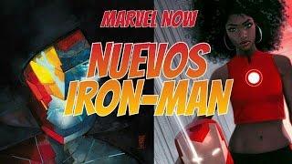 2 nuevos IRON-MAN en MARVEL NOW | Zona Freak