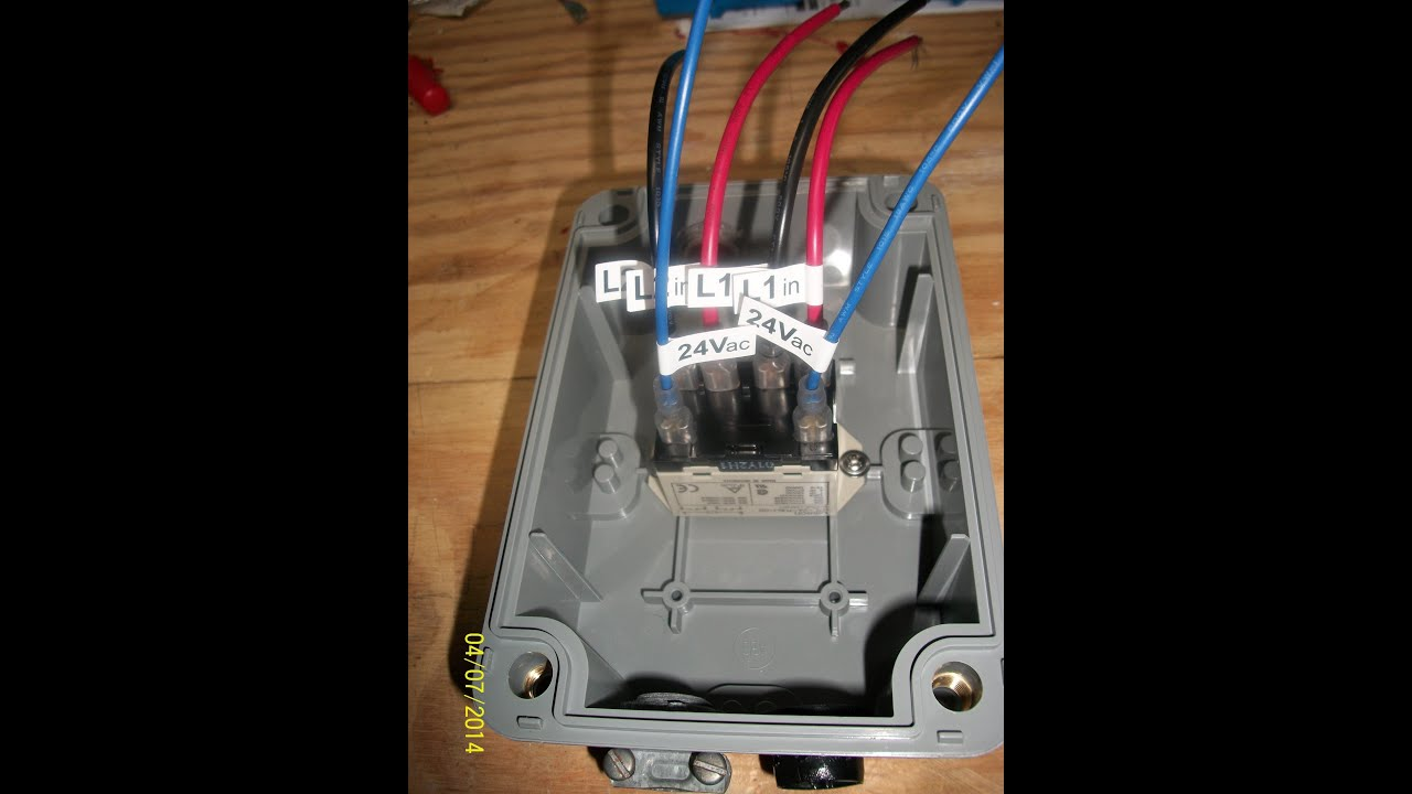 How To Check A Pump Start Relay Youtube Borehole Control Box Wiring
