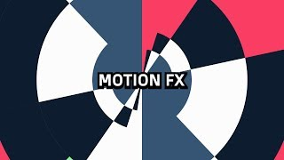 FREE 2D Shapes Text Reveal ( After Effects) Motion Fx