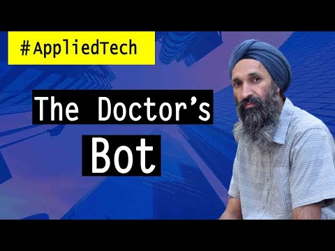 The Doctor's Bot   Harjinder Sandhu from Saykara