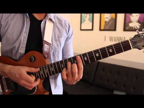Chromeo - Jealous (Guitar Chords & Lesson) by Shawn Parrotte