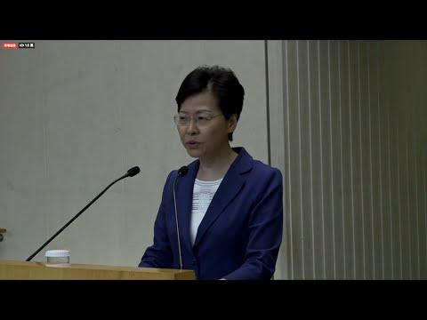 HK leader: Violence will push Hong Kong down 'path of no return' | AFP