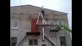Монтаж дымохода из нержавеющей стали - ООО