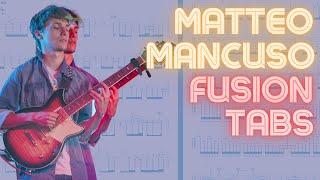 Matteo Mancuso Transcription - Hąve You Heard - Pat Metheny