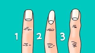 Узнай о характере по форме пальцев. ВИДЕО ТЕСТ