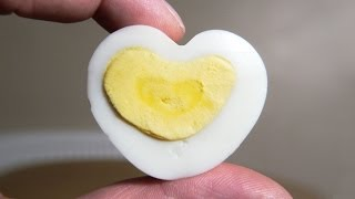 How to Make a Heart Shaped Egg - Valentines Day