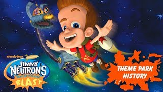 The Theme Park History of Jimmy Neutron's Nicktoon Blast (Universal Studios Florida)