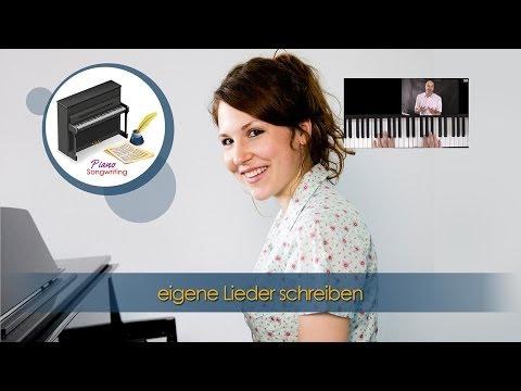 Klavier lernen - eigene Lieder schreiben am Klavier - Songwriting - kreatives Klavierspiel