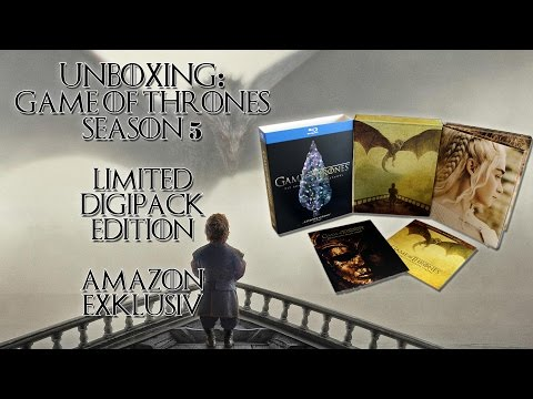 Unboxing - Game of Thrones - Season 5 - Limited Digipack Edition - Amazon exklusiv