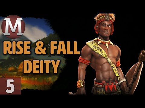 Civ 6: Rise and Fall - Let's Play Deity Shaka / Zulu - Part 5