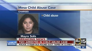 "Mesa police reveal details in ""shocking"" child abuse case"
