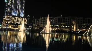 Dubai fountain show 2016
