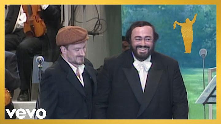 luciano pavarotti brian eno bono the edge  miss sarajevo live