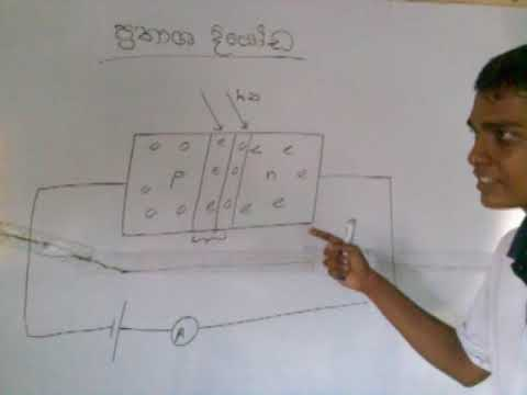 Junction Diode Sinhalese Medium Lecture 2.3