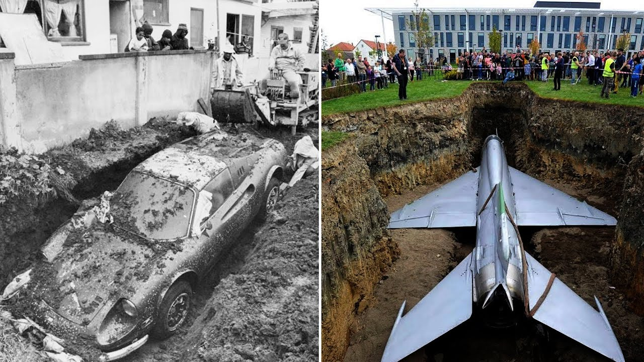 10 Unbelievable Discoveries Found Buried Underground
