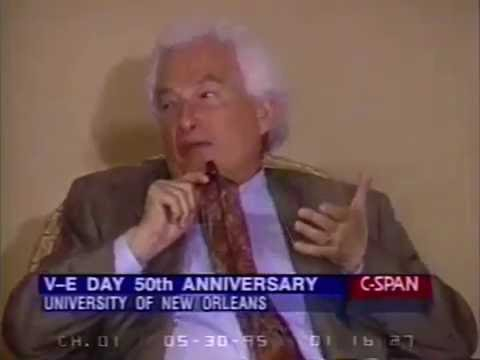 Kurt Vonnegut and Joseph Heller discuss World War II + Q&A (1995)