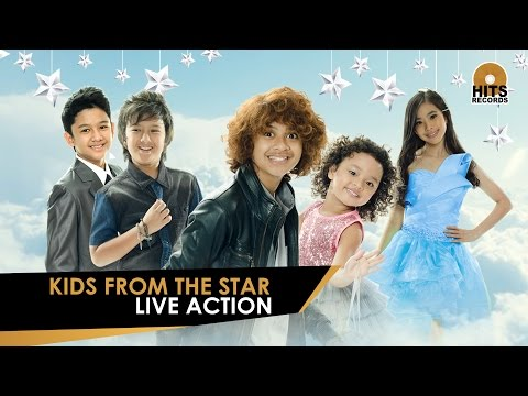 Live Action Kids From The Star at DahSyat Musik