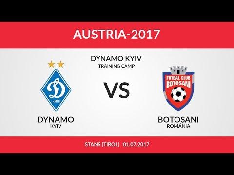 Динамо Киев - Ботошани 1:1 видео