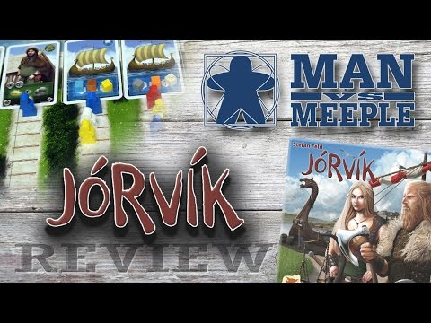 Jorvik (Stronghold Games) Review by Man Vs Meeple