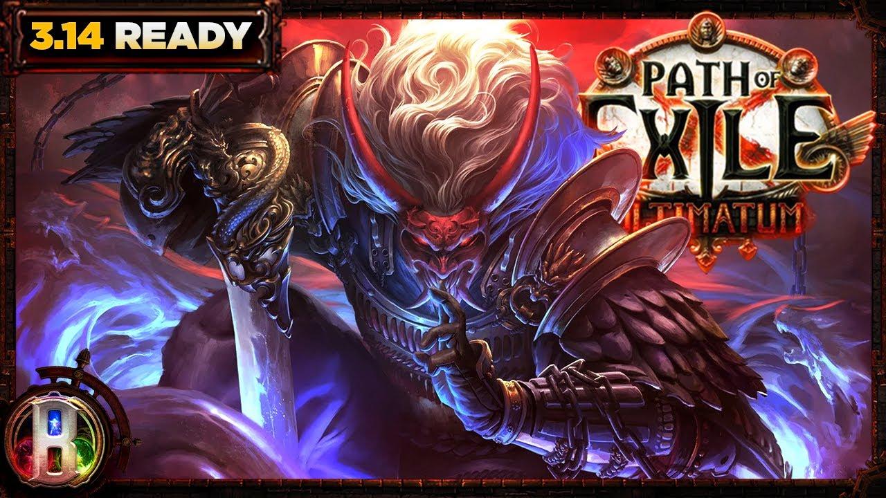 Download Path of Exile 3.14 - Oni Goroshi Tectonic Slam Build - Chieftain Marauder - PoE Ultimatum - PoE 3.14