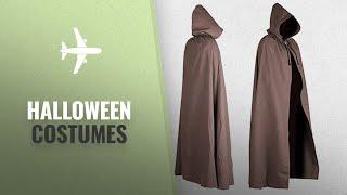 Mytholon Men Halloween Costumes [2018]: Aaron Canvas Cloak (Brown)