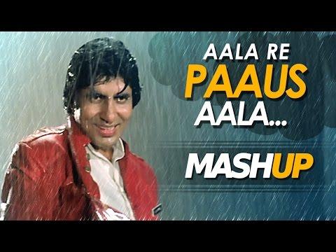 Monsoon Mashup - आला रे पाऊस आला - Hit Bollywood Songs - Romanctic rain Song