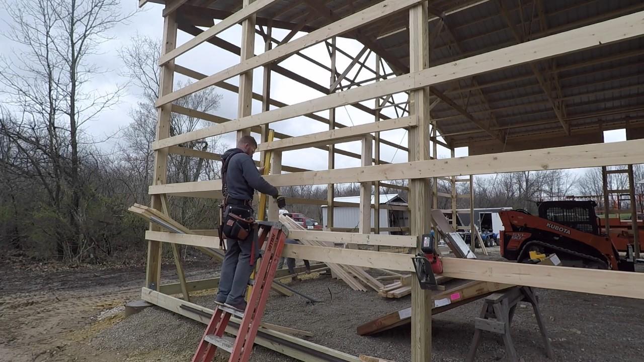 How To Frame Windows In A Pole Barn Viewframes Co