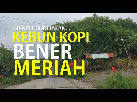 Menelusuri Jalan Di Perkebunan Kopi Bener Meriah Aceh