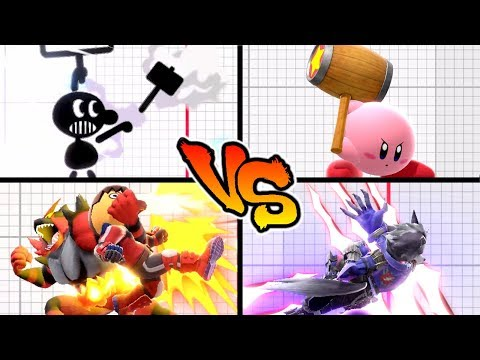 Super Smash Bros. Ultimate - Who has the Strongest Side Special Move? thumbnail