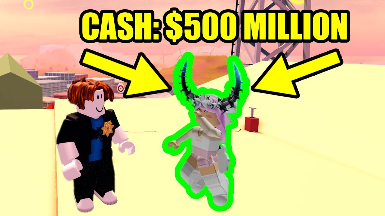 The Richest Jailbreak Player Gets Mad Roblox Jailbreak This Player Has Almost 500 Million Cash In Roblox Jailbreak Youtube